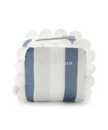 gelato pique/スカラップストライプティッシュポーチ/502254295