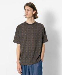 SENSE OF PLACE/バティックTシャツ(5分袖)/502254369
