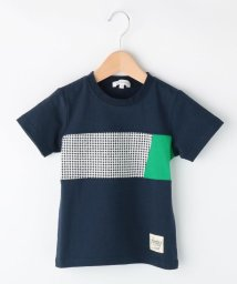 3can4on(Kids)/【抗菌防臭】【160cmまで】パネル切替Tシャツ/502254639