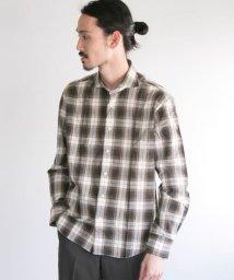 URBAN RESEARCH/URBAN RESEARCH Tailor スペックタータンチェックシャツ/502254932