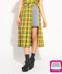 PINK-latte/★ニコラ掲載★プリーツラップミディ スカート/502255014