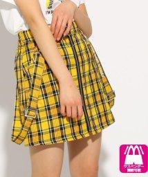 PINK-latte/★ニコラ掲載★サス付前ZIP台形 スカート/502255015