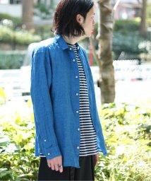JOINT WORKS/【Begin掲載】Foggy Linenタイニーカラーシャツ◆/502255504