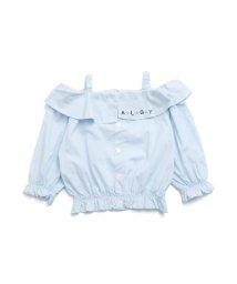 ALGY/衿デザインオフショルブラウス/501214507