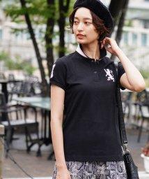 GIORDANOL/[GIORDANO]3Dライオン刺繍ポロシャツ/501561607