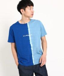 THE SHOP TK/縦切替タイダイTシャツ/502019591