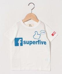 SUPERFIVE/半袖Tシャツ/502024474