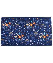 COLORFUL CANDY STYLE/プールタオル 平面 太陽系惑星とコスモプラネタリウム(ネイビー)/502039198