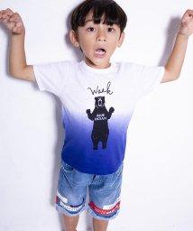 WASK/天竺段染めアニマルプリントTシャツ(110cm~130cm)/502039725