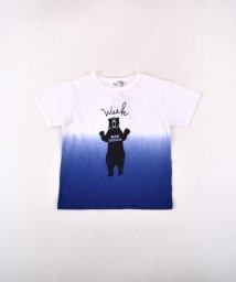 WASK/天竺段染めアニマルプリントTシャツ(140cm~160cm)/502039726