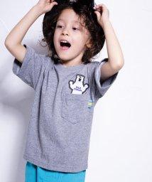 WASK/冷感フィッシュボーンワイドTシャツ(140cm~160cm)/502039728