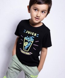 WASK/冷感柄ナレネオンプリントTシャツ(110cm~130cm)/502039729