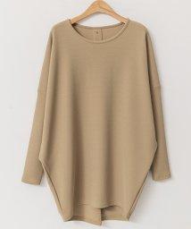 JOAMOM/JOAMOM(ジョアマム)バックボタンロングTシャツ-/502039900