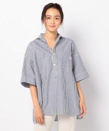 FREDY&GLOSTER/【DANTON/ダントン】BIGシルエットシャツ #JD-3654/502040889
