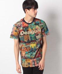 Desigual/メンズ Tシャツ 半袖/502043267