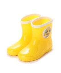 Jolly Walk/ジョリーウォーク Jolly Walk レインシューズ 柔軟性 防滑パターンアウトソール サイドキャラクター JWQ01 (Yellow)/502132562