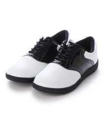 JADE/【JUNIOR】 JADE CREW ドレスデザイン・ジュニアサイズスニーカー JWJ1505 (ホワイトブラック)/502132887