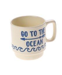 KAHIKO/【kahiko】GO TO THE OCEAN ビーチスタッキングマグカップ クリーム/502138922