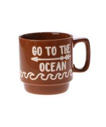 KAHIKO/【kahiko】GO TO THE OCEAN ビーチスタッキングマグカップ ブラウン/502138925