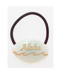 KAHIKO/【Kahiko】Alohaウェーブヘアゴム アクア/502144986