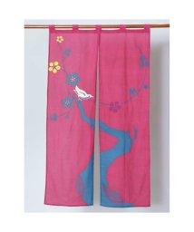 KAYA/【カヤ】和の暖簾 ピンク/502145726