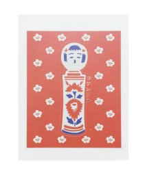 KAYA/【カヤ】NIPPON STICKER -KOKESHI- こけし レッド系その他/502145749