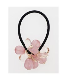 KAYA/【カヤ】花かさねビーズヘアゴム ベージュ/502146548