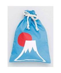 KAYA/【カヤ】くるみ巾着大 ライトブルー/502147428