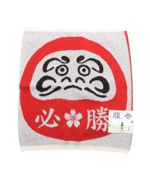 KAYA/【カヤ】必勝だるま腹巻き Lサイズ レッド/502147995