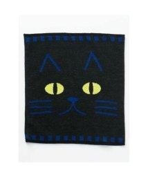 KAYA/【カヤ】黒猫腹巻きL ブラック×ブルー【返品不可商品】/502148128