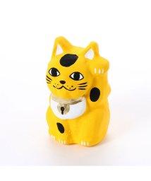 KAYA/【カヤ】豆招き猫 無地 イエロー/502148210