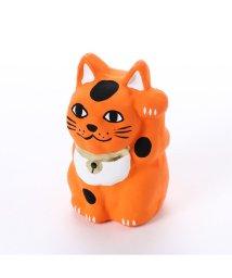 KAYA/【カヤ】豆招き猫 無地 オレンジ/502148211
