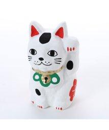 KAYA/【カヤ】招き猫 松竹梅 ホワイト×レッド/502148218