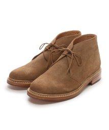 London Shoe Make/ロンドンシューメイク London Shoe Make グッドイヤーウエルトオールレザーハンドメイドスェードカントリーブーツ(ベージュ)/502152122