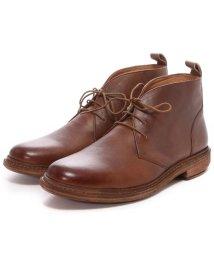 London Shoe Make/ロンドンシューメイク London Shoe Make グッドイヤーウエルトオールレザーハンドメイドレースアップブーツ(アンティークブラウン)/502152142