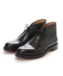 London Shoe Make/ロンドンシューメイク London Shoe Make グッドイヤーウエルトオールレザーハンドメイドスタンダードチャッカーブーツ(ブラック)/502152143