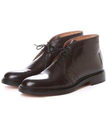 London Shoe Make/ロンドンシューメイク London Shoe Make グッドイヤーウエルトオールレザーハンドメイドスタンダードチャッカーブーツ(ブラウン)/502152144