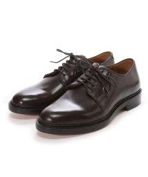London Shoe Make/ロンドンシューメイク London Shoe Make グッドイヤーウエルトオールレザーハンドメイドプレーントゥダービー(ブラウン)/502152146
