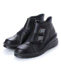 Milla Sports/ミラスポーツ Milla Sports 楽ちん4E ASWソール サイドゴム切替ブーツ (ブラック)/502160391