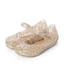MELISSA/メリッサ melissa MINI MELISSA CAMPANA ZIG ZAG VI BB (MIXED GOLDEN GLITTER)/502169345