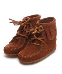 MINNETONKA/【Kid's】ミネトンカ MINNE TONKA ANKLE HI TRAMPER BOOT(Brown)/502172627
