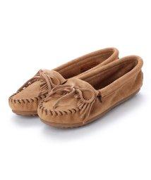 MINNETONKA/ミネトンカ Minnetonka KILTY Suede Moccasin Shoes (トープ)/502173221