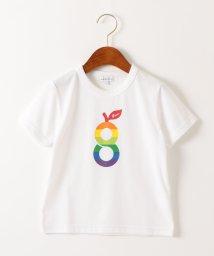 green label relaxing (Kids)/〔吸水速乾〕gロゴプリント ショートスリーブTシャツ/502255657