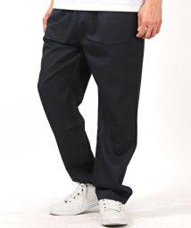 LUXSTYLE/TRストレッチ1タックスラックスワイドパンツ/ワイドパンツ メンズ パンツ ワイド TRストレッチ 1タック/502256075