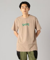 SHIPS MEN/SU: 【SHIPS】 エンブロイダリー ロゴ Tシャツ/502266683