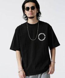 nano・universe/【WEB限定】NN別注サークルプリントTシャツ/502268015