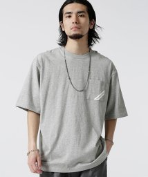 nano・universe/【WEB限定】NN別注コーナープリントTシャツ/502268016