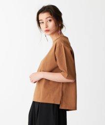 EMMEL REFINES/SMF 裾スリット クルーネックTシャツ/502268324