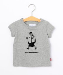 SHIPS KIDS/ARCH&LINE:【SHIPS KIDS別注】オーガニック ガール プリントTEE(80~90cm)/502268455