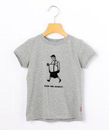 SHIPS KIDS/ARCH&LINE:【SHIPS KIDS別注】オーガニック ガール プリントTEE(100~130cm)/502268721